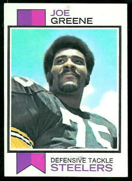 Joe Greene 1973 Topps football card