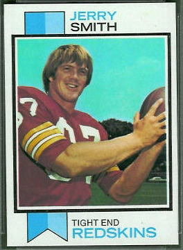 Jerry Smith 1973 Topps football card