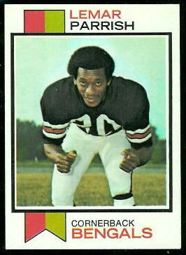 Lemar Parrish 1973 Topps football card