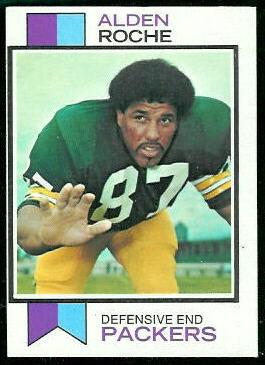 Alden Roche 1973 Topps football card