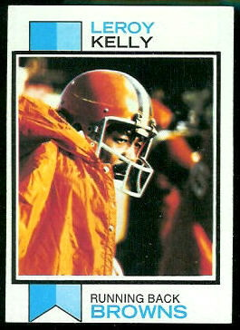 Leroy Kelly 1973 Topps football card
