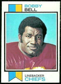 Bobby Bell 1973 Topps football card