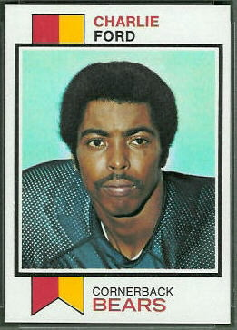 Charlie Ford 1973 Topps football card