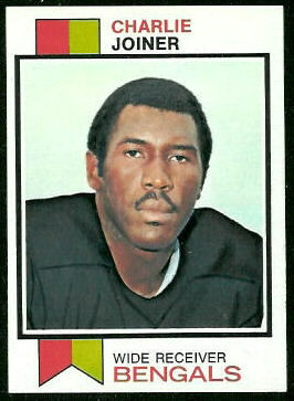 Charlie Joiner 1973 Topps football card