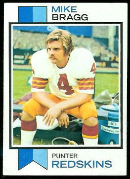 Mike Bragg 1973 Topps football card