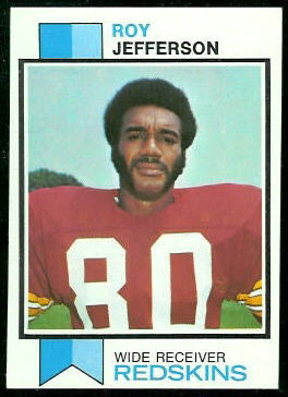 Roy Jefferson 1973 Topps football card