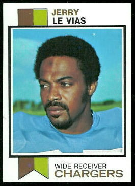 Jerry LeVias 1973 Topps football card