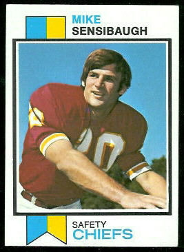 Mike Sensibaugh 1973 Topps football card