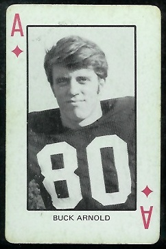 Buck Arnold 1974 Colorado Playing Cards football card