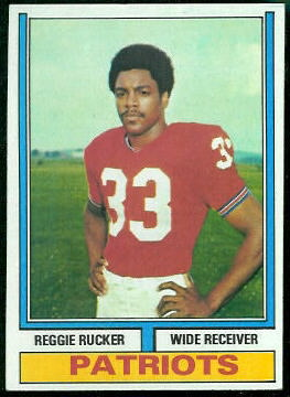 Reggie Rucker 1974 Topps football card
