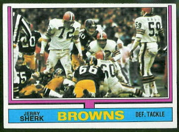 Jerry Sherk 1974 Topps football card