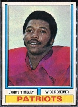 Darryl Stingley 1974 Topps football card