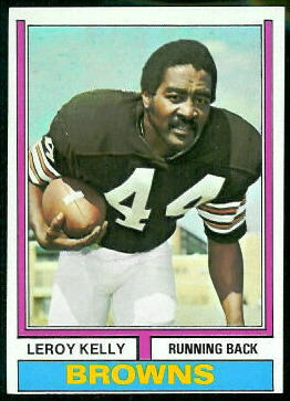 Leroy Kelly 1974 Topps football card