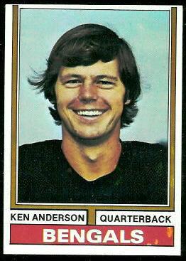Ken Anderson - 1974 Topps #401 - Vintage Football Card Gallery