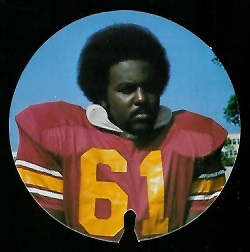 Donnie Hickman 1974 USC Discs football card