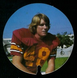 Doug Hogan 1974 USC Discs football card