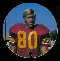 Mike Howell 1974 USC Discs football card