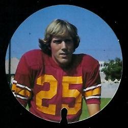 J.K. McKay 1974 USC Discs football card
