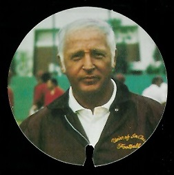 John McKay 1974 USC Discs football card