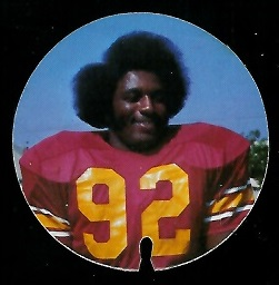 Otha Bradley 1974 USC Discs football card