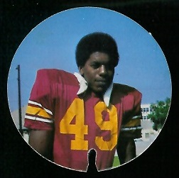 Charlie Phillips 1974 USC Discs football card
