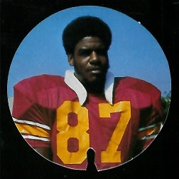 Ed Powell 1974 USC Discs football card