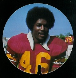 Danny Reece 1974 USC Discs football card