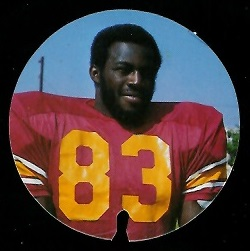 Richard Wood 1974 USC Discs football card