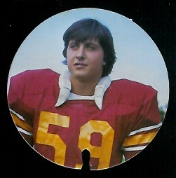 Mario Celotto 1974 USC Discs football card