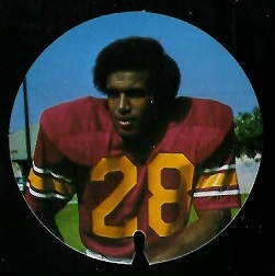 Anthony Davis 1974 USC Discs football card