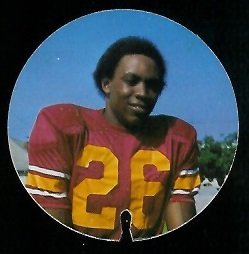 Shelton Diggs 1974 USC Discs football card