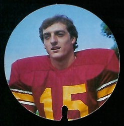 Dave Farmer 1974 USC Discs football card