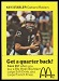 1975 McDonalds Quarterbacks Ken Stabler