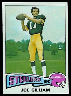 Joe Gilliam 1975 Topps football card