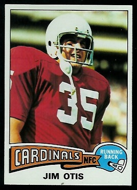 Jim Otis 1975 Topps football card