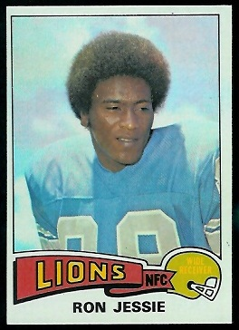 Ron Jessie 1975 Topps football card