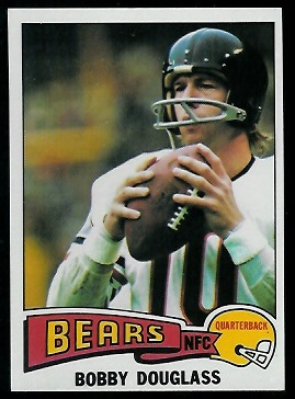 Bobby Douglass 1975 Topps football card