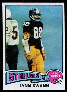Lynn Swann 1975 Topps football card