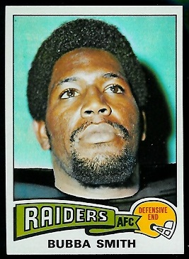 Bubba Smith 1975 Topps football card
