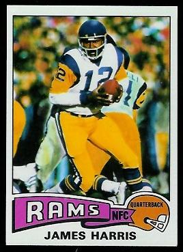 James Harris Rookie Card 1975 Topps 338 Vintage