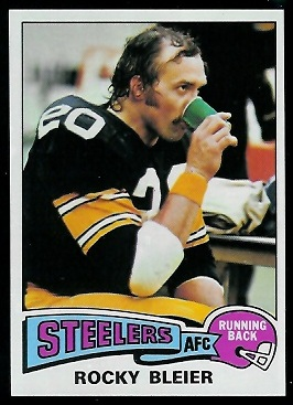 Rocky Bleier 1975 Topps football card