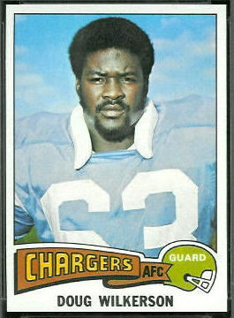 Doug Wilkerson 1975 Topps football card