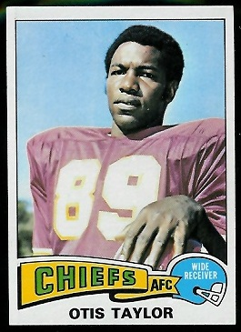 Otis Taylor 1975 Topps football card