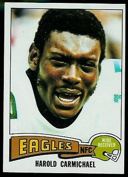 Harold Carmichael 1975 Topps football card
