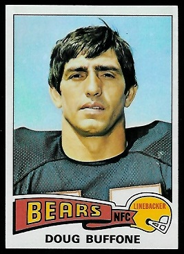 Doug Buffone 1975 Topps football card