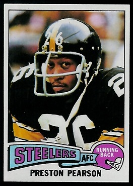 Preston Pearson 1975 Topps football card