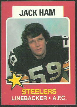 Jack Ham 1975 Wonder Bread football card