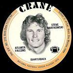 1976 Crane Discs Steve Bartkowski