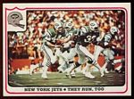 1976 Fleer Team Action New York Jets - They Run, Too