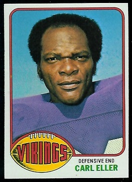 Carl Eller 1976 Topps football card